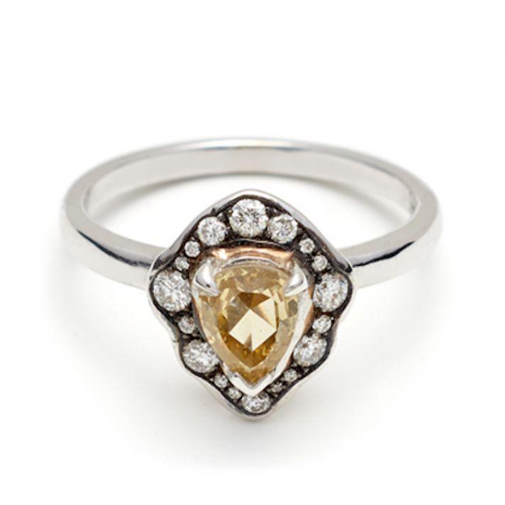 Camellia Petal Ring