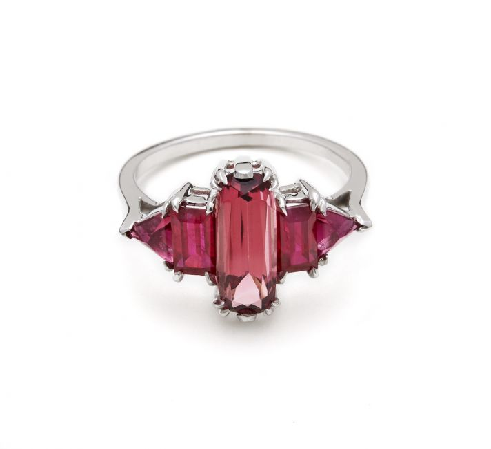 Ruby engagment ring