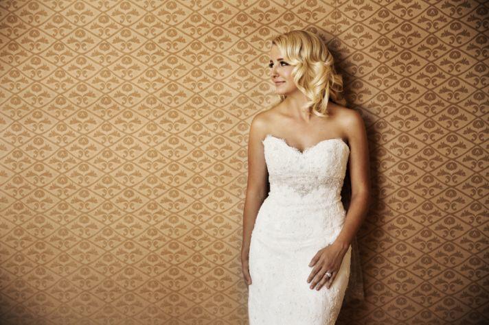 Sexy bride portrait