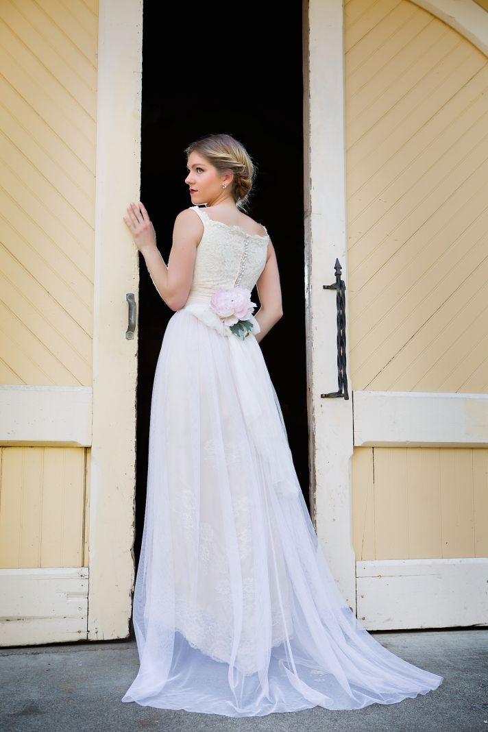 Wedding gown by Amy Jo Tatum