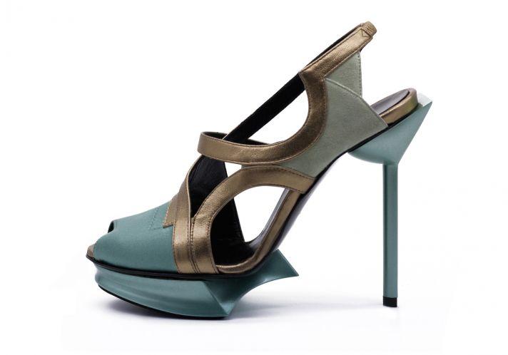 Les Tinettes shoes from Maison des Talons