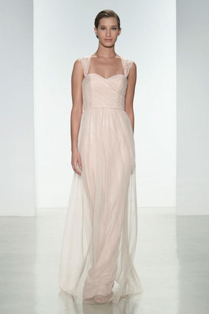 Tulle and Lace in Blush Pink