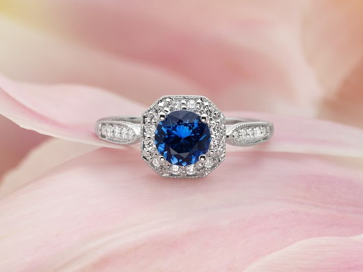 Saphire Wedding Ring