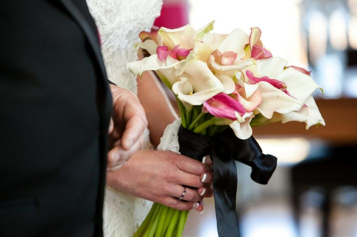Calla Lilie Bridal Bouquet