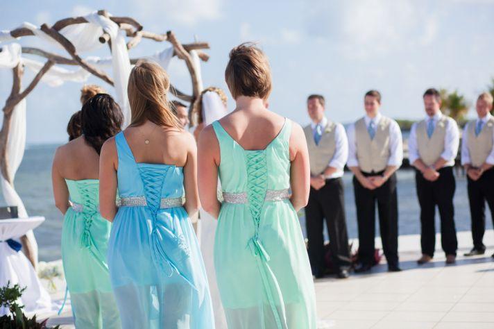 Beachy Bridesmaid Dress Inspiration