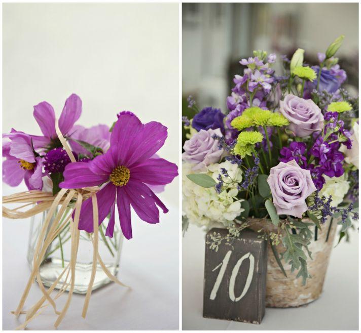 Primarily Purple Floral Decor