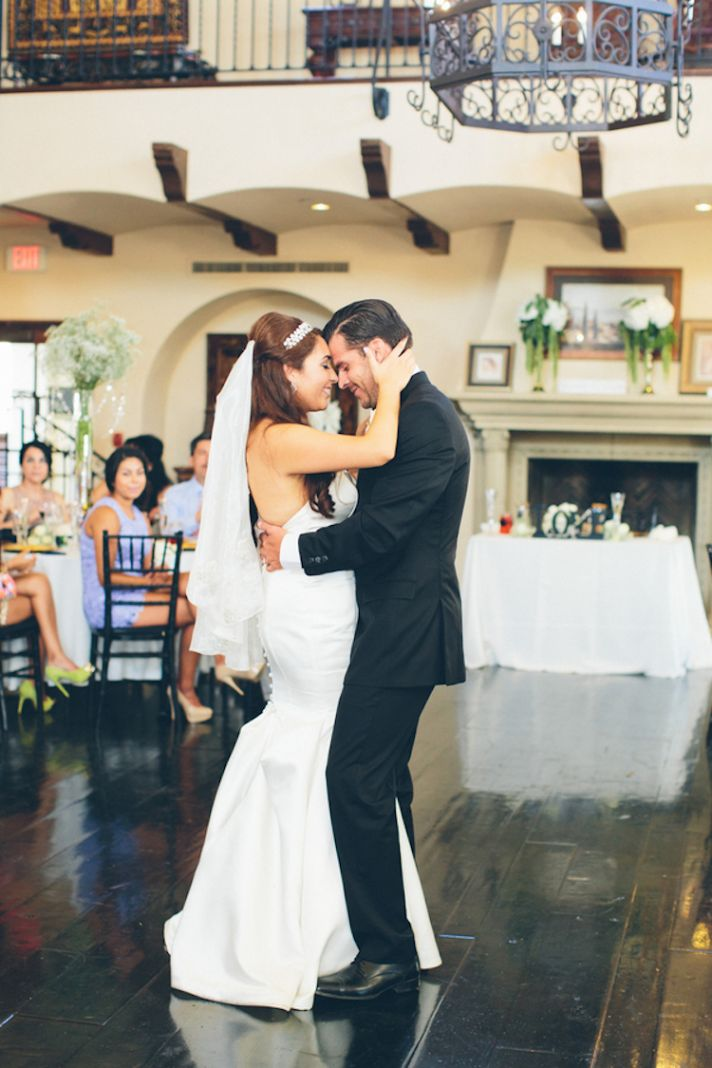 Dancing Together as Bride and Groom