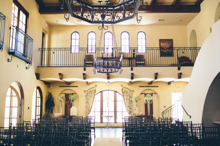 Stunning Indoor Ceremony Venue