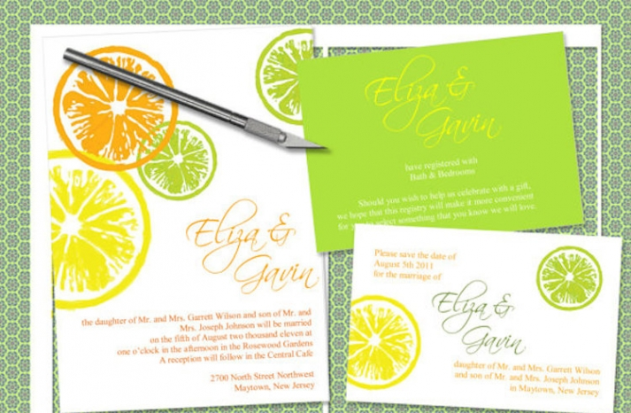 Citrus Stationery