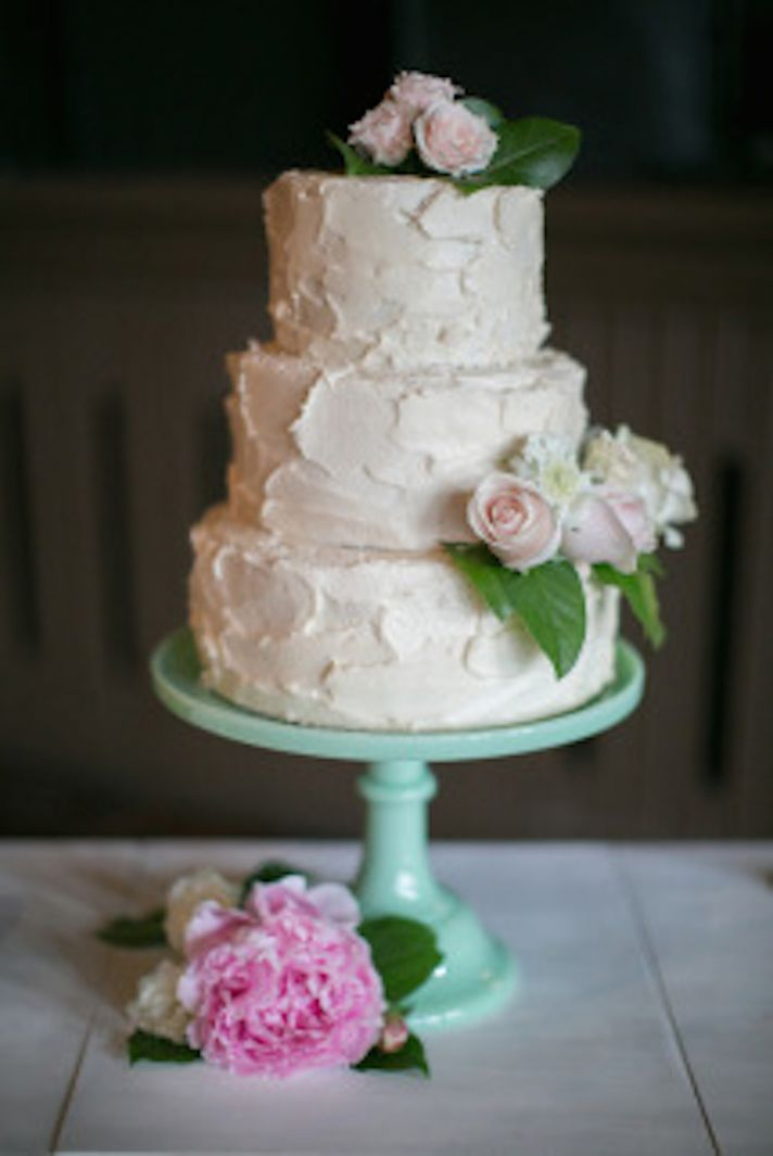 HomeMade Wedding Cake