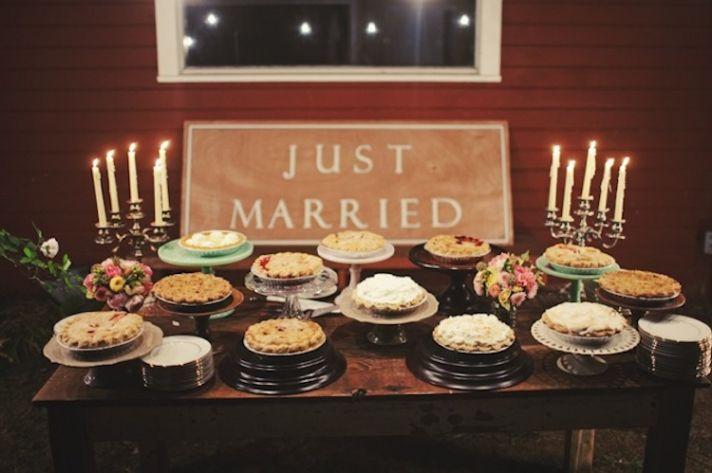Perfectly Rustic Wedding Desserts