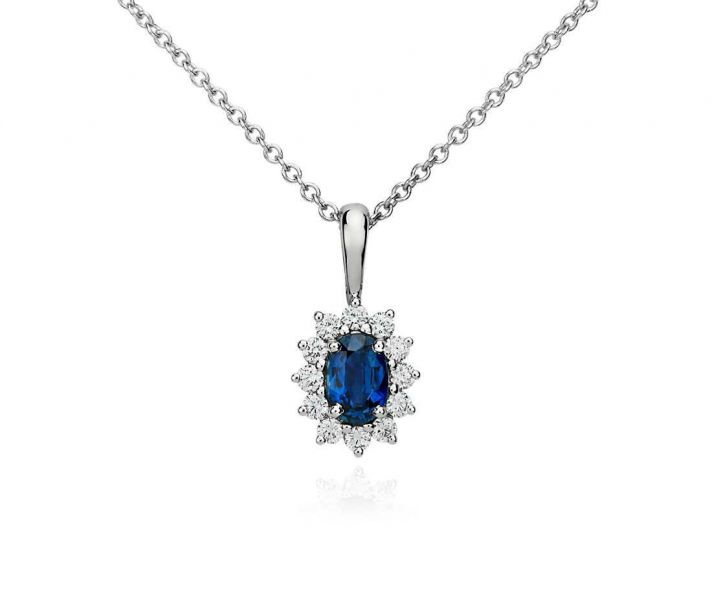 Ritani Endless Love Wedding Band 34 Popular Sapphire Star Necklace