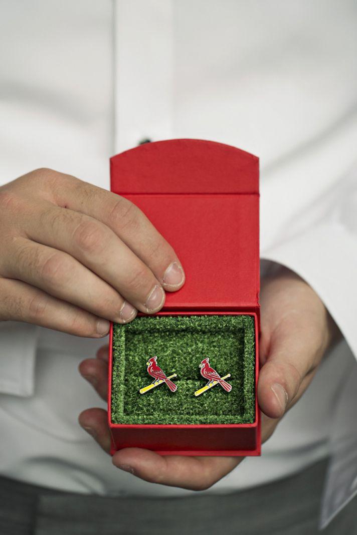 St Louis Cardinals Cufflinks