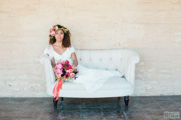 Beautiful Bohemian Bride