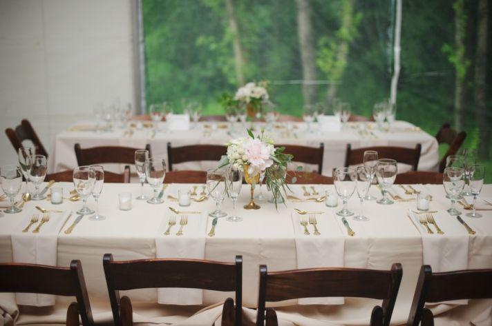 Plantation Wedding Reception Tables