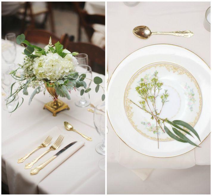 Beautiful Plantation Style Reception Table