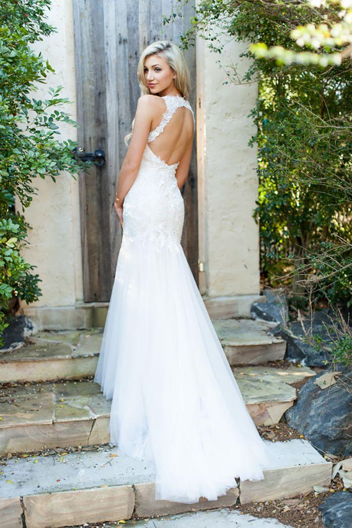 Unique Back Wedding Dresses 91 Simple Cara Lace Wedding Dress
