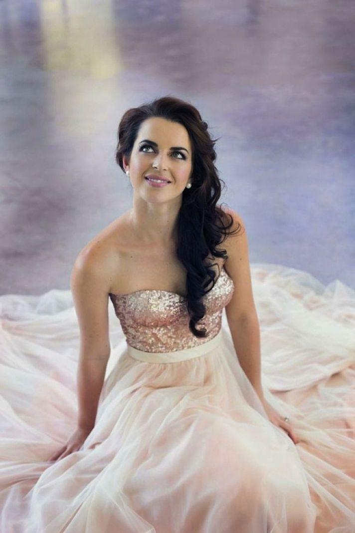 Pink Wedding Dress Dream Meaning : Blush pink wedding dress