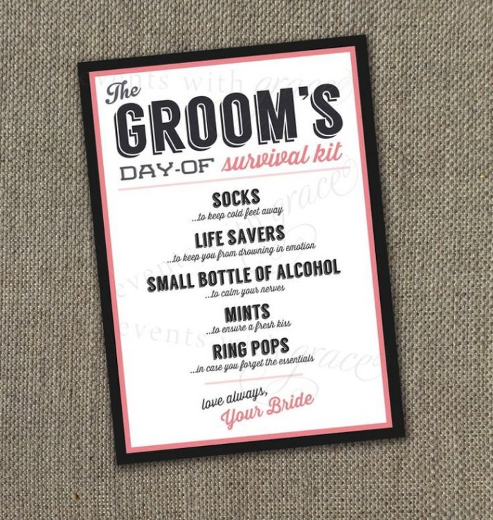 The Quest to Find the Perfect Groom\'s Gift!