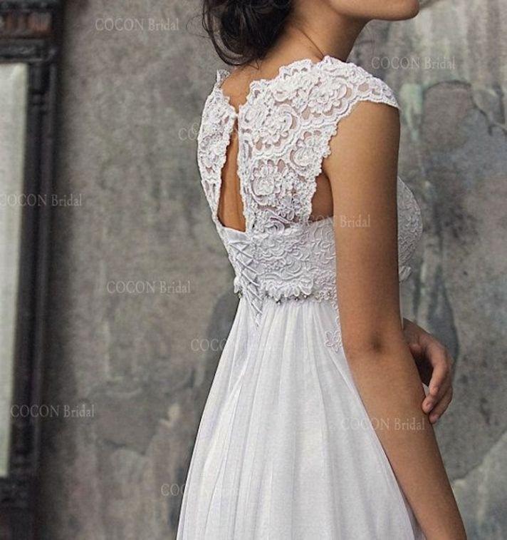 European Wedding Dress Designers 74 Popular Etsy Cocon Bridal Back