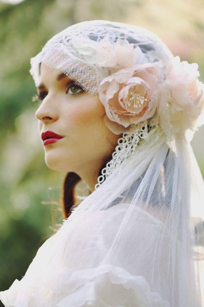 Timeless & Elegant Juliet Cap Veils