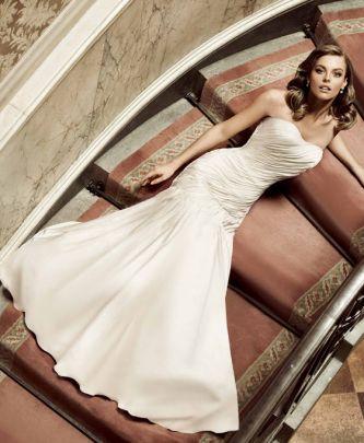 Simone Carvalli Wedding Dress Style 7114 Dress