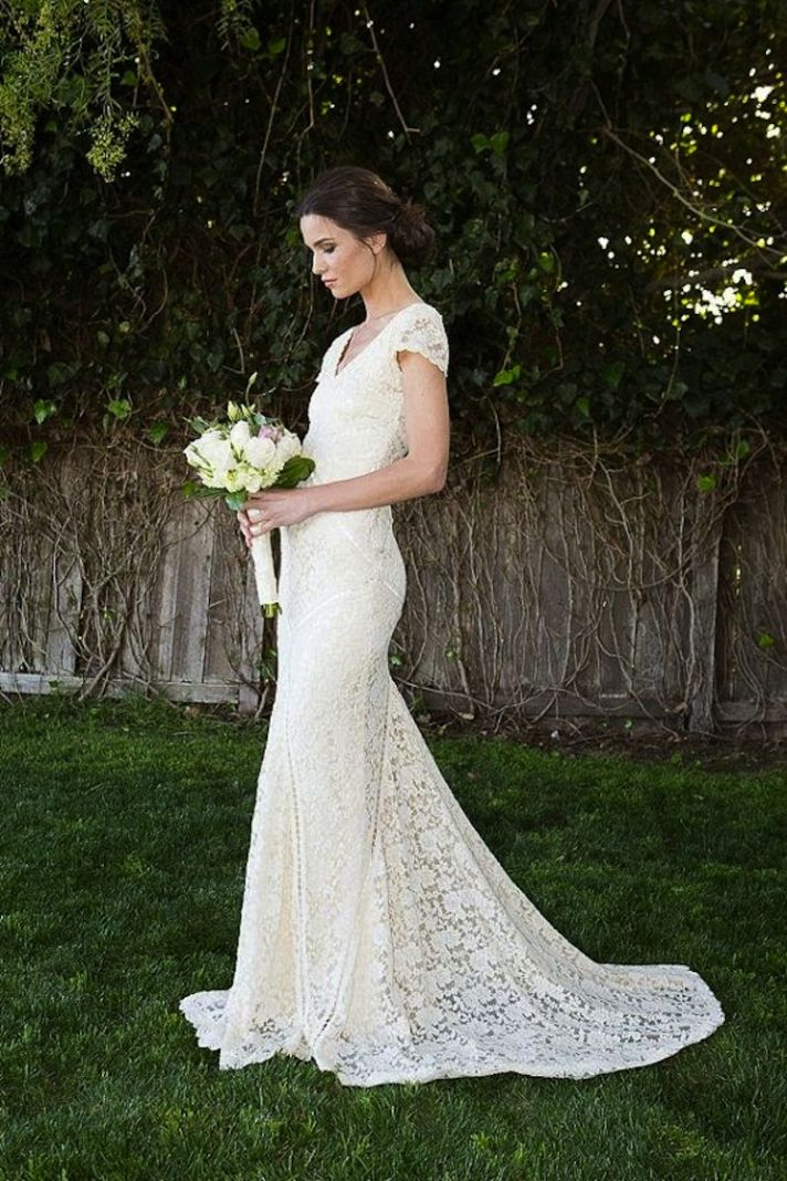 Form Fiting Lace Dress