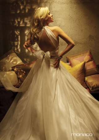 Feminine Halter Wedding Gowns Another great halter neckline is one that