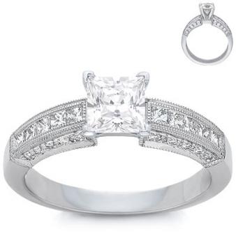 blue nile designer engagement wedding rings onewed