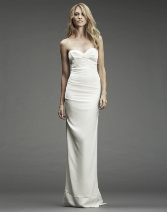 Nicole miller designer wedding dresses onewed for Nicole miller dresses wedding