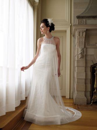David tutera for mon cheri wedding dress style 111206 for Mon cheri wedding dress prices